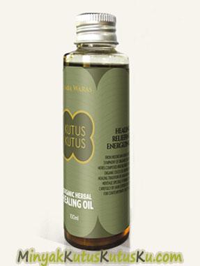 Organic Herbal Healing Oil- MinyakKutusKutusKu.com