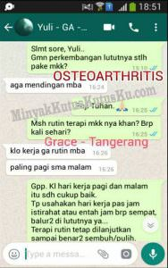Minyak Kutus Kutus Bagi Penderita Osteoarthritis