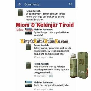 Testimoni Minyak Kutus Kutus - Miom dan Kelenjar Tiroid
