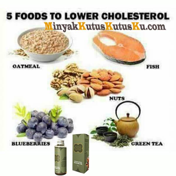 Waspada Kolestrol Menjangkiti Anda, Minyak Kutus Kutus Solusinya - food low colestrol