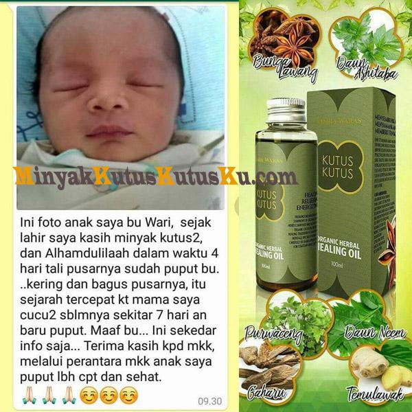 Minyak Kutus Kutus Aman Untuk Bayi