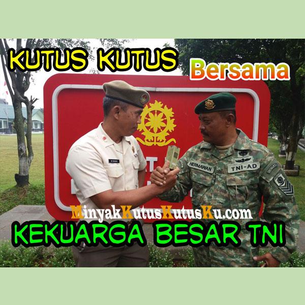 Minyak Kutus Kutus telah di percaya Keluarga Besar TNI AD