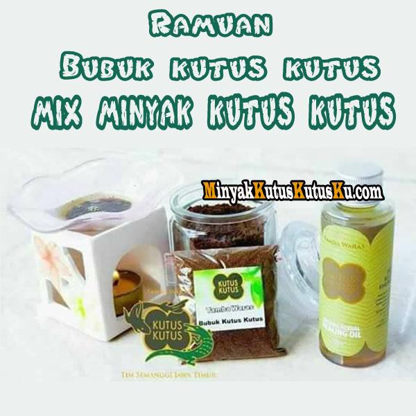 Ramuan Bubuk Kutus Kutus mix Minyak Kutus Kutus
