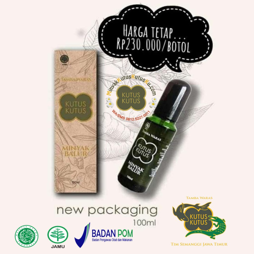 Minyak Kutus Kutus new packaging